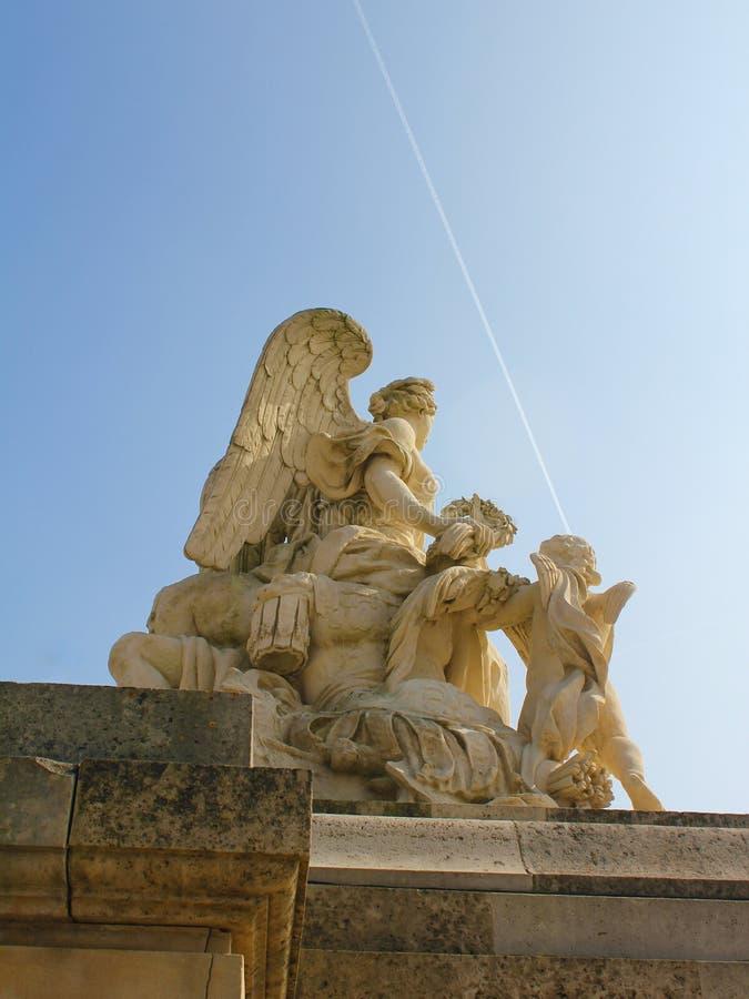 Άγγελος στις Βερσαλλίες στοκ φωτογραφίες
