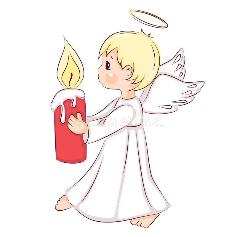 Άγγελος Χριστουγέννων Ð ¡ Ute διανυσματική απεικόνιση