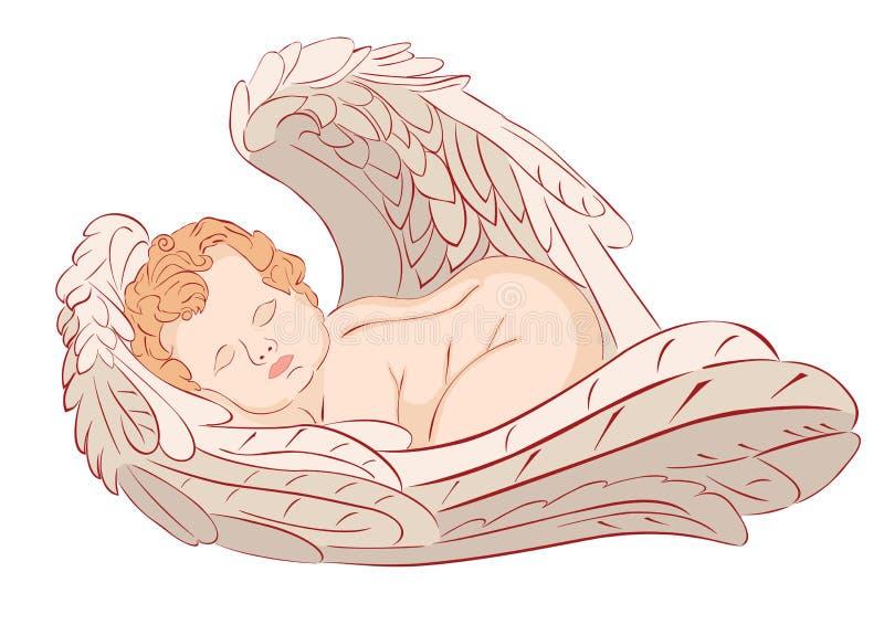 Άγγελος ύπνου απεικόνιση αποθεμάτων