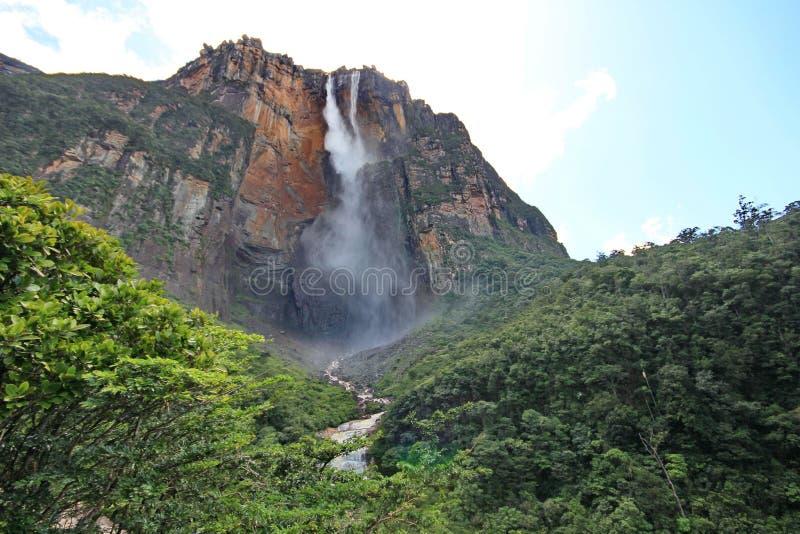 Άγγελος Salto, Βενεζουέλα στοκ εικόνες