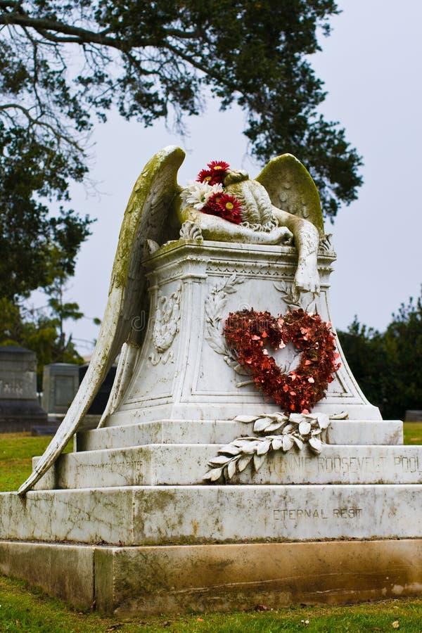 Άγγελος βαλεντίνων στοκ φωτογραφίες