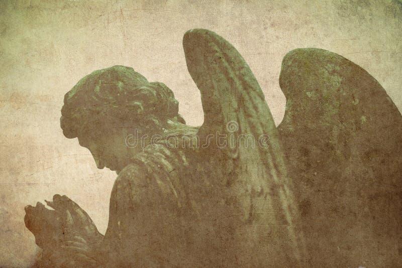 Άγγελος προσευχής στοκ φωτογραφίες με δικαίωμα ελεύθερης χρήσης