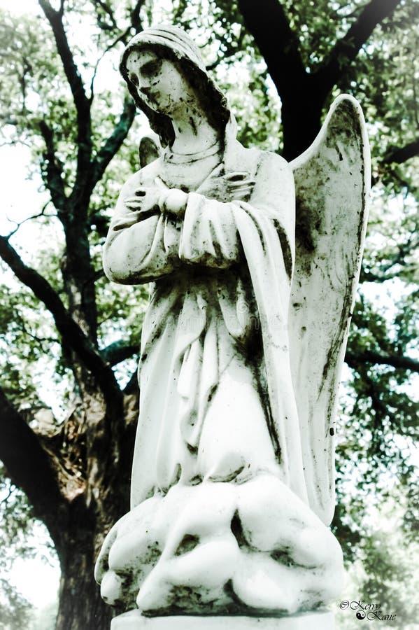 Άγγελος στο νεφρίτη στοκ εικόνες