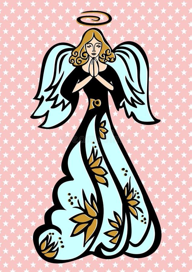 Άγγελος φυλάκων απεικόνιση αποθεμάτων
