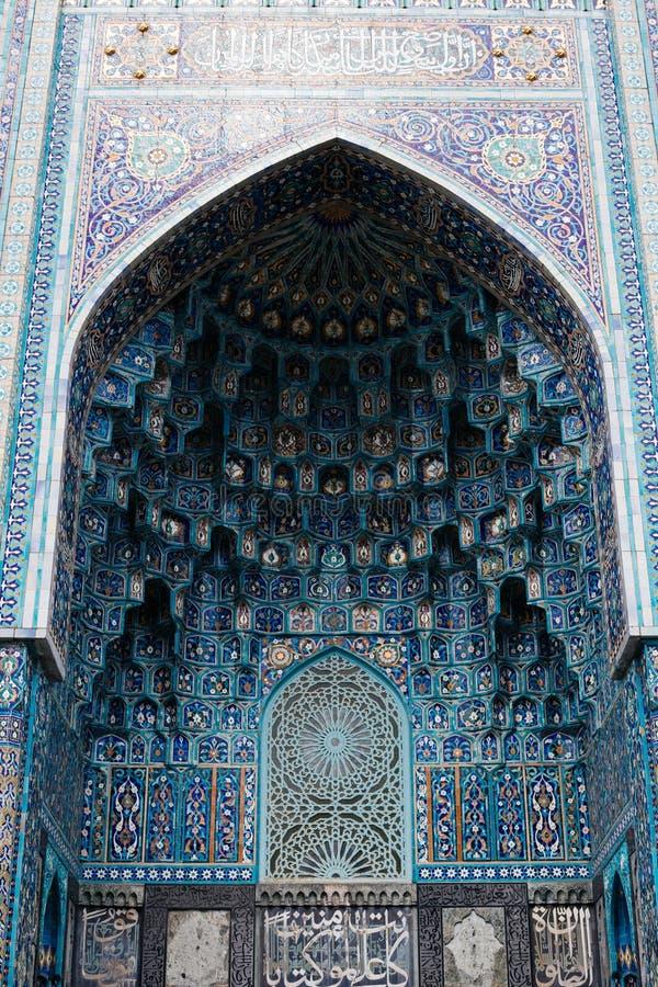 Άγιος Πετρούπολη, το μουσουλμανικό τέμενος καθεδρικών ναών, Ρωσία, 2017, στοκ εικόνες