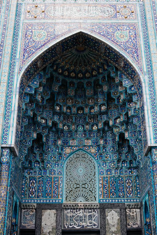 Άγιος Πετρούπολη, το μουσουλμανικό τέμενος καθεδρικών ναών, Ρωσία, 2017, στοκ εικόνες με δικαίωμα ελεύθερης χρήσης