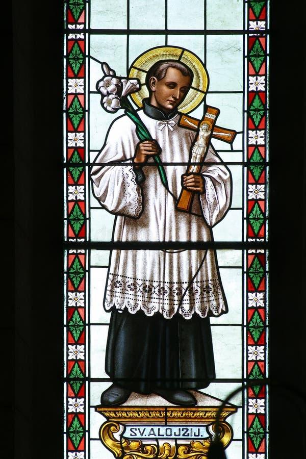 Άγιος Aloysius στοκ φωτογραφίες