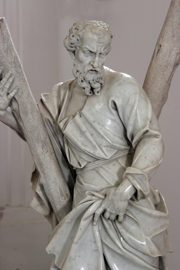 Άγιος Andrew ο απόστολος στοκ εικόνα