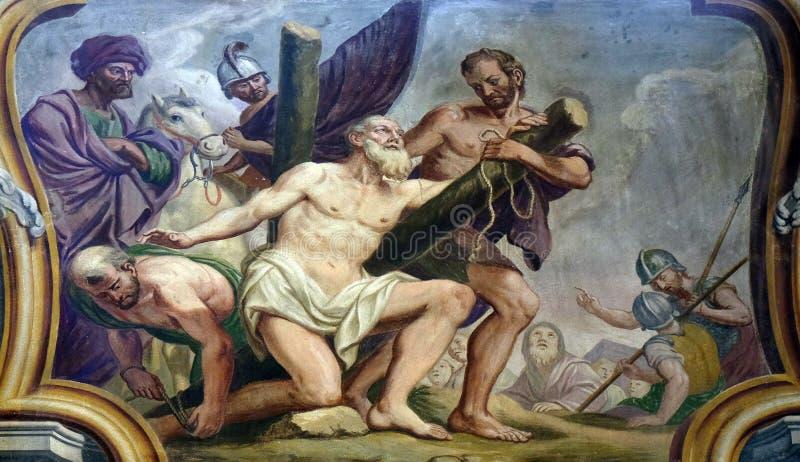 Άγιος Andrew ο απόστολος στοκ εικόνα με δικαίωμα ελεύθερης χρήσης