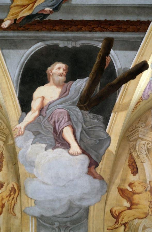 Άγιος Andrew ο απόστολος στοκ φωτογραφία