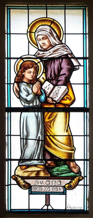 Άγιος Anne στοκ φωτογραφία με δικαίωμα ελεύθερης χρήσης
