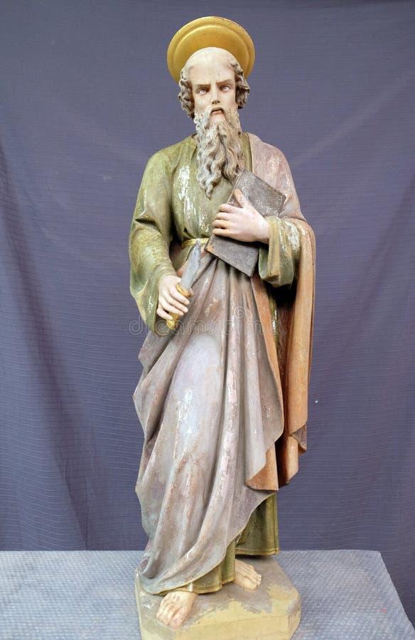 Άγιος Bartholomew ο απόστολος στοκ φωτογραφίες με δικαίωμα ελεύθερης χρήσης