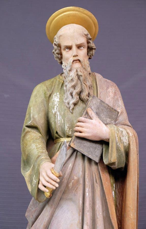 Άγιος Bartholomew ο απόστολος στοκ εικόνα με δικαίωμα ελεύθερης χρήσης