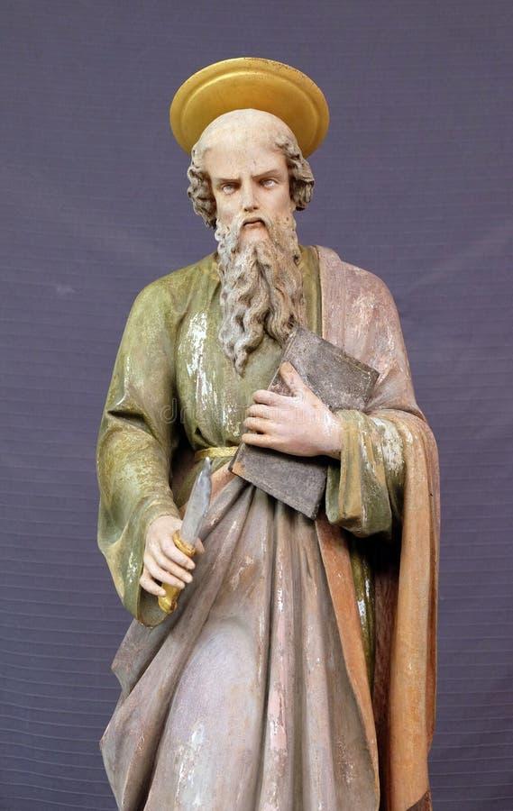 Άγιος Bartholomew ο απόστολος στοκ φωτογραφία