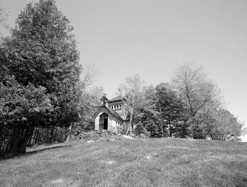 Άγιος Benedict Abbey στην Άγιος-Benoit-du-Lacoit-du-λάκκα στοκ φωτογραφία με δικαίωμα ελεύθερης χρήσης