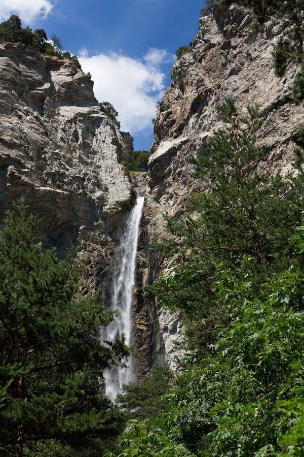 Άγιος-Benoit καταρράκτης - Avrieux - Savoie - Γαλλία στοκ εικόνες με δικαίωμα ελεύθερης χρήσης