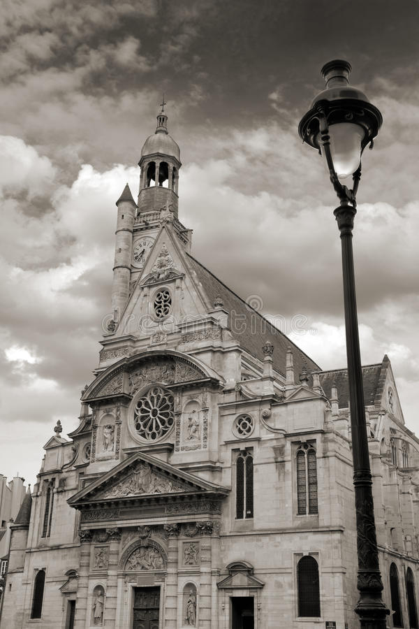 Άγιος-Etienne-du-Mont. στοκ φωτογραφία