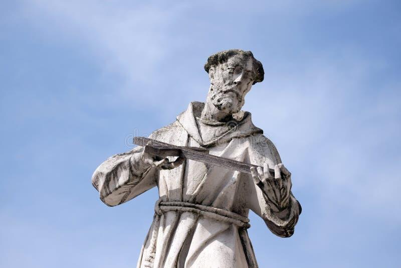 Άγιος Francis Assissi στοκ φωτογραφία με δικαίωμα ελεύθερης χρήσης