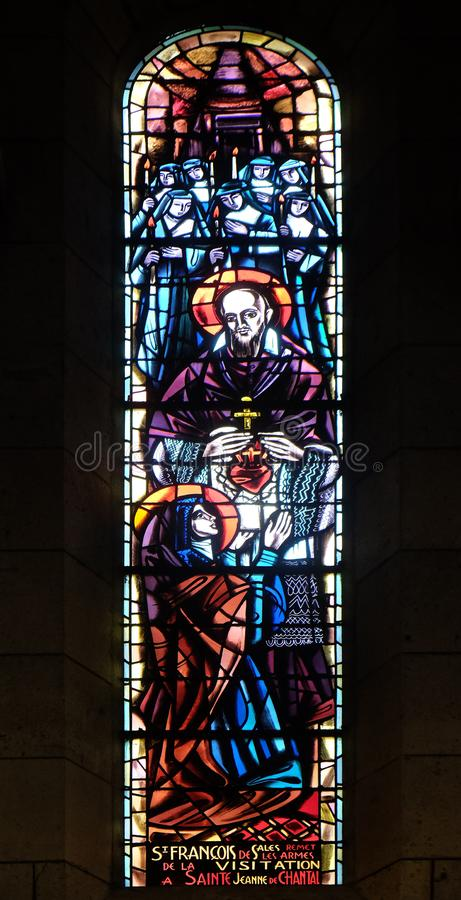 Άγιος Francis de Sales και Άγιος Jeanne de Chantal στοκ φωτογραφία με δικαίωμα ελεύθερης χρήσης