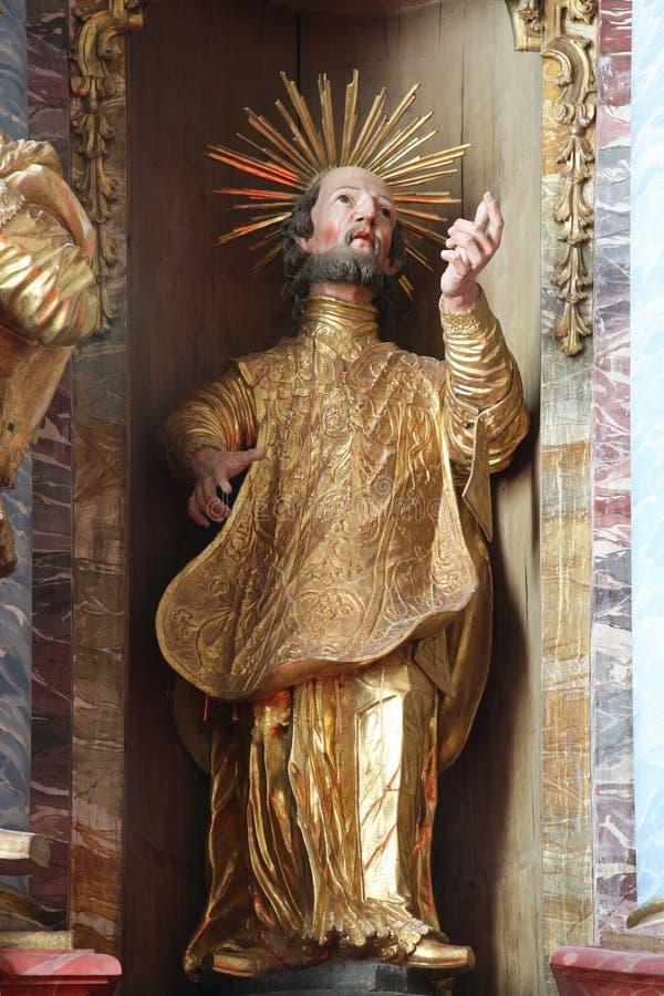 Άγιος Francis Xavier στοκ φωτογραφία