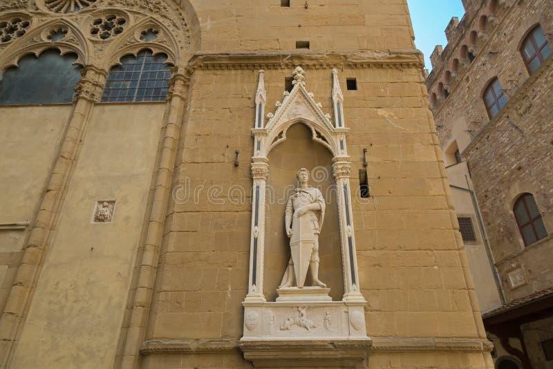 Άγιος George (συντεχνία των οπλοποιών και Swordmakers) στη Φλωρεντία, Ι στοκ εικόνα με δικαίωμα ελεύθερης χρήσης