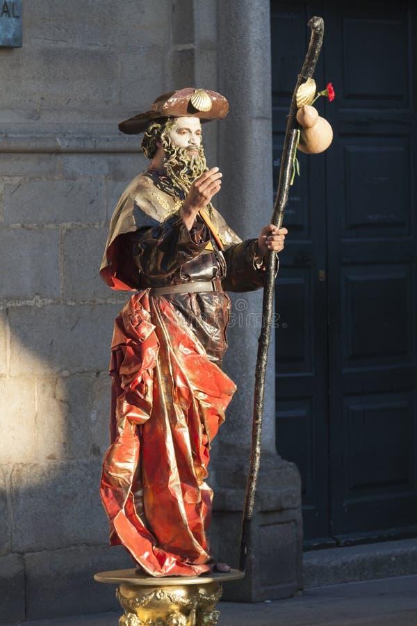 Άγιος James ο απόστολος mime στοκ φωτογραφίες με δικαίωμα ελεύθερης χρήσης