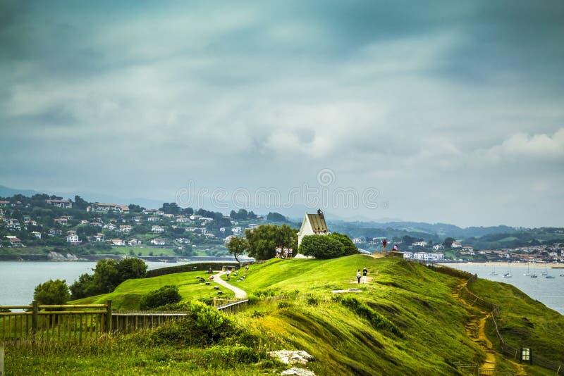 Άγιος-Jean-de-Luz, Γαλλία στοκ εικόνες