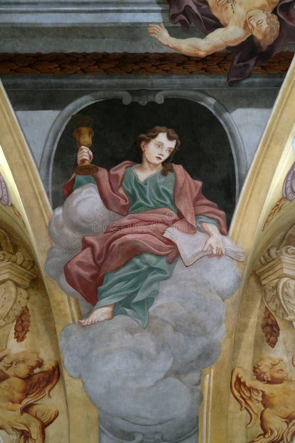 Άγιος John ο απόστολος στοκ φωτογραφίες