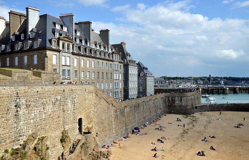 Άγιος Malo, Βρετάνη, Γαλλία στοκ εικόνες με δικαίωμα ελεύθερης χρήσης