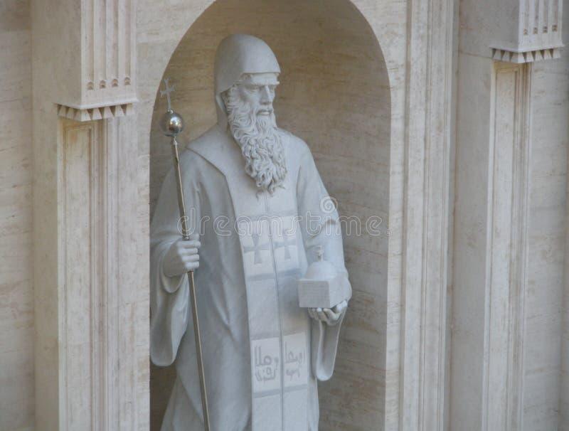 Άγιος Maroun, βασιλική Αγίου Peter, πόλη του Βατικανού στοκ φωτογραφίες