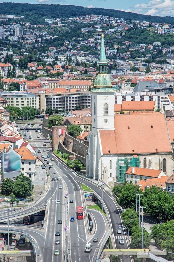 Άγιος Martin& x27 καθεδρικός ναός του s στη Μπρατισλάβα, Σλοβακία στοκ εικόνες με δικαίωμα ελεύθερης χρήσης