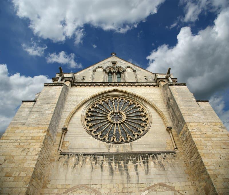 Άγιος-Maurice καθεδρικός ναός, Angers. Γαλλία στοκ εικόνες