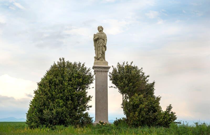 Άγιος Roch ή άγαλμα του Rocco Καθολικός Άγιος ένας ομολογητής στοκ φωτογραφίες με δικαίωμα ελεύθερης χρήσης
