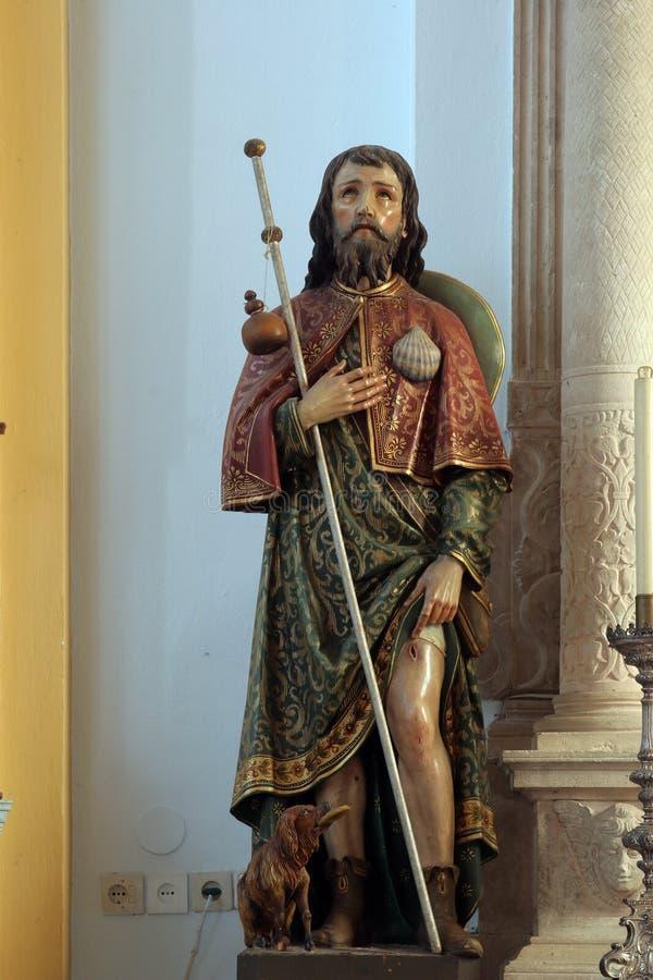 Άγιος Roch στοκ φωτογραφία με δικαίωμα ελεύθερης χρήσης
