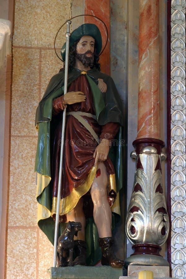 Άγιος Roch στοκ εικόνες με δικαίωμα ελεύθερης χρήσης
