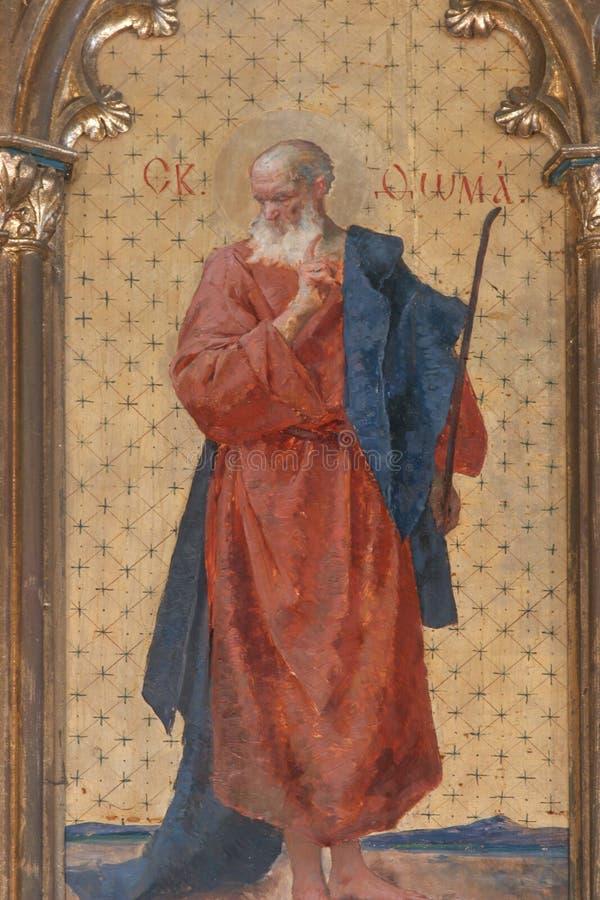 Άγιος Thomas ο απόστολος στοκ φωτογραφίες