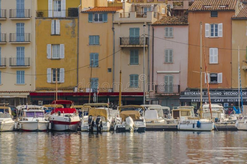Άγιος Tropez στα ξημερώματα στοκ εικόνα με δικαίωμα ελεύθερης χρήσης
