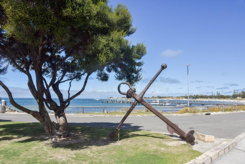 Άγκυρα ναυαγίου Rottnest στοκ φωτογραφίες με δικαίωμα ελεύθερης χρήσης