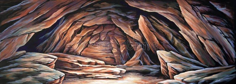 Άγονη σπηλιά απεικόνιση αποθεμάτων