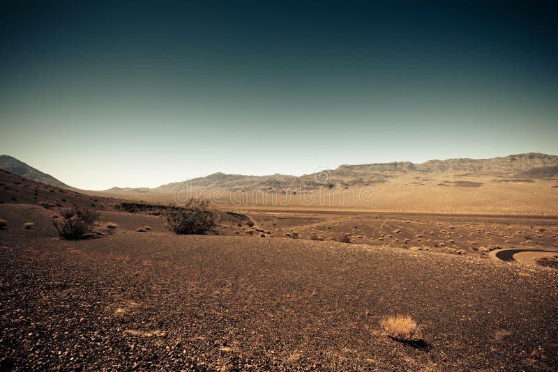 Άγονο έδαφος όπως τον Άρη στοκ φωτογραφία