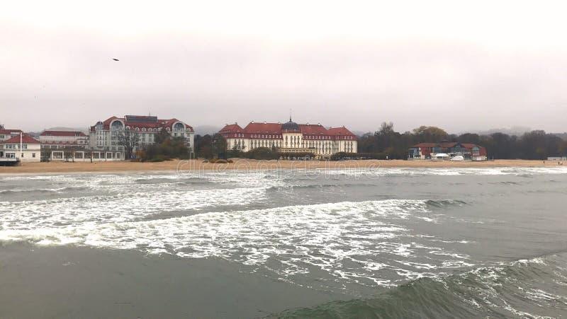Άγρια Βαλτική στοκ φωτογραφία