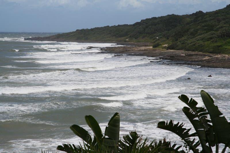 άγρια περιοχές ακτών στοκ φωτογραφία
