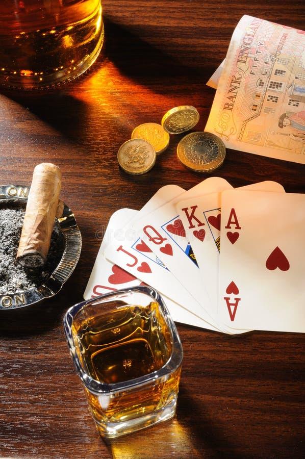 άγρια περιοχές πόκερ στοκ εικόνα με δικαίωμα ελεύθερης χρήσης