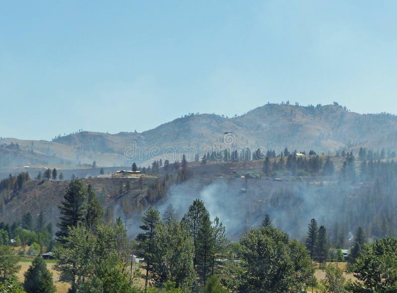 Άγρια πυρκαγιά κοντά στο Carlton WA στοκ φωτογραφία με δικαίωμα ελεύθερης χρήσης