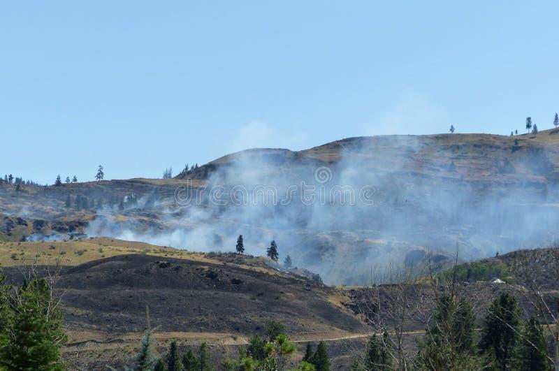 Άγρια πυρκαγιά κοντά στο Carlton WA στοκ φωτογραφία