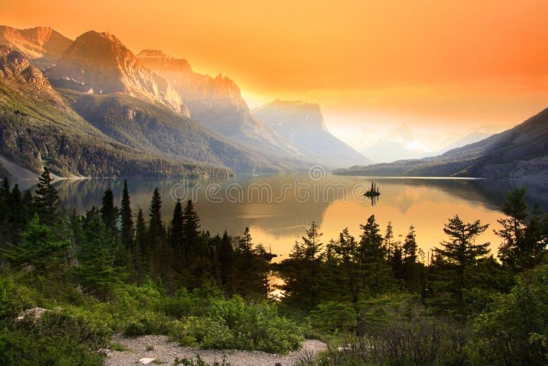 Λίμνη Αγίου Mary στοκ φωτογραφίες με δικαίωμα ελεύθερης χρήσης