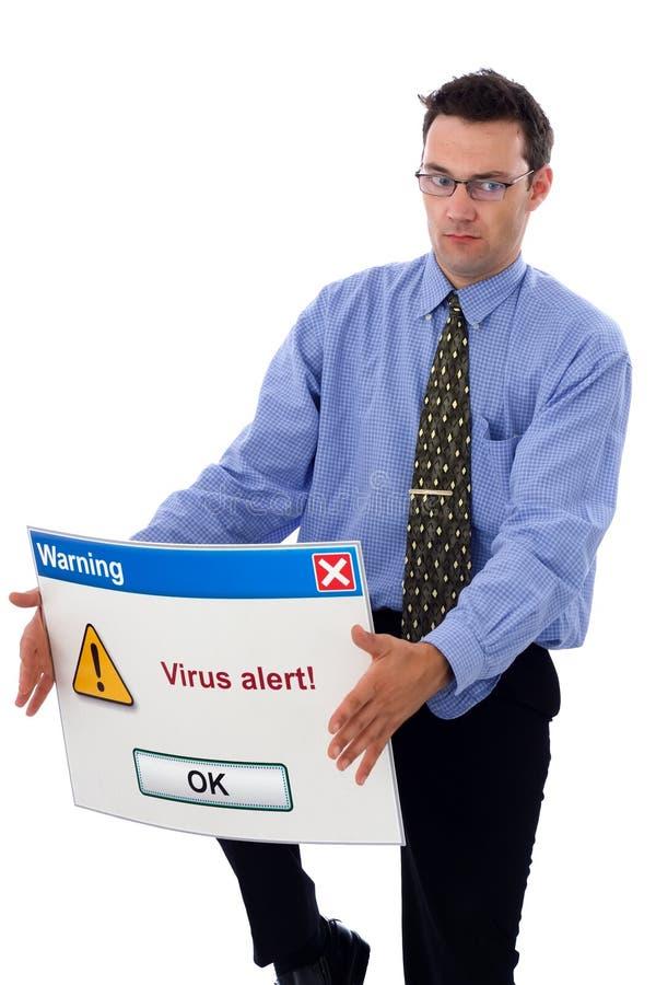 άγρυπνος ιός στοκ φωτογραφία
