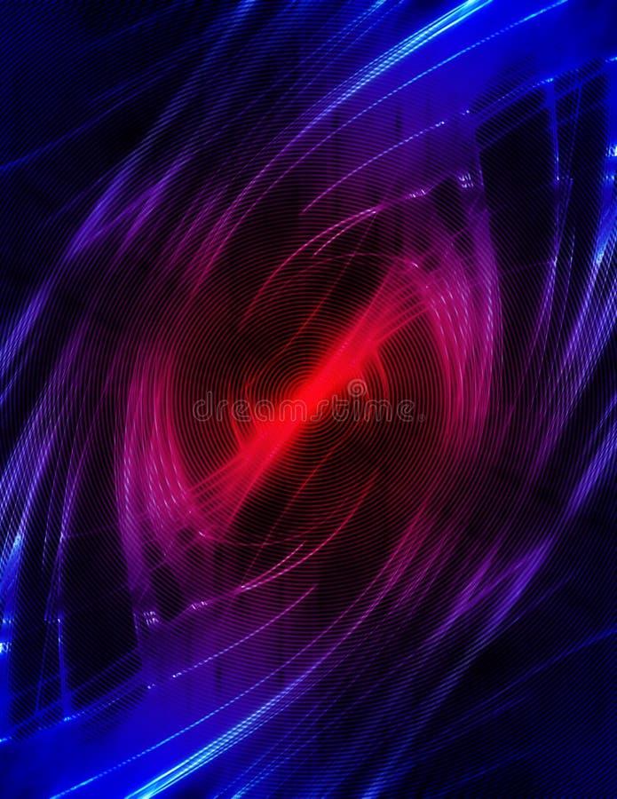 άγρυπνο κόκκινο διανυσματική απεικόνιση