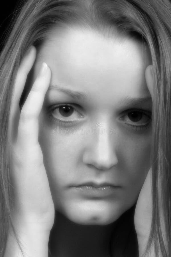 άγχος στοκ φωτογραφία με δικαίωμα ελεύθερης χρήσης