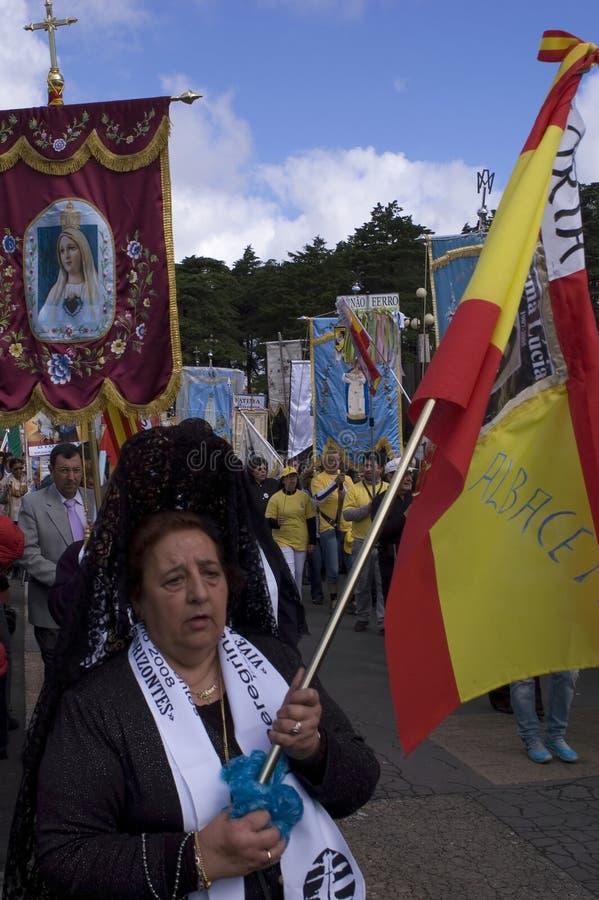 άδυτο της Fatima Πορτογαλία στοκ φωτογραφία με δικαίωμα ελεύθερης χρήσης